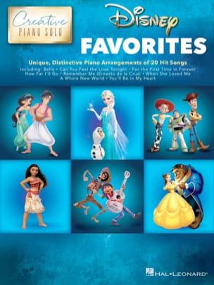 Creative Piano Solo - Disney Favorites DISNEY Partition laflutedepan