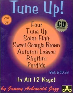 Volume 67 - Tune Up! METHODE AEBERSOLD Partition Jazz - laflutedepan