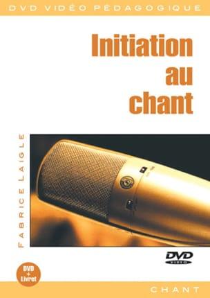 DVD - Initiation Au Chant Fabrice Laigle Partition laflutedepan