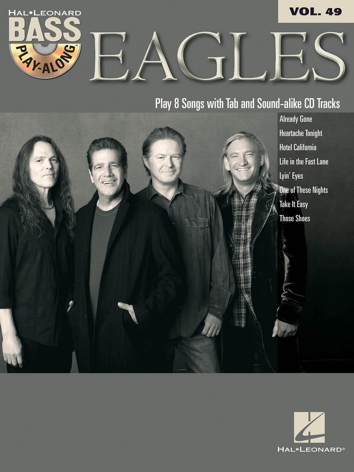 Bass Play-Along Volume 49 - Eagles - Eagles - laflutedepan.com