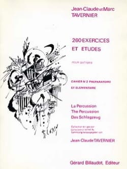 260 Exercices et Etudes - Volume 2 TAVERNIER Partition laflutedepan