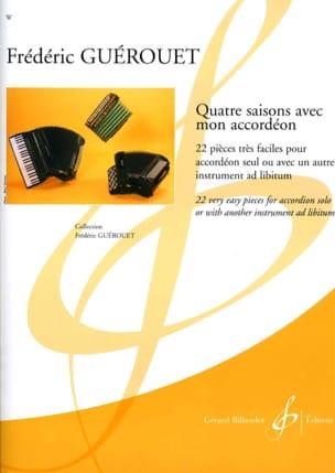 Quatre saisons avec mon accordéon Frédéric Guérouet laflutedepan