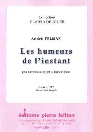 Les Humeurs de l'instant André Telman Partition laflutedepan