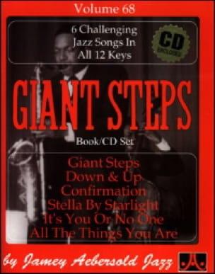 Volume 68 - Giant Steps - METHODE AEBERSOLD - laflutedepan.com