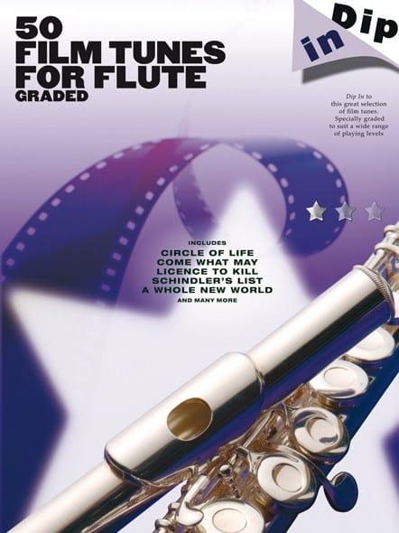 50 Film Tunes For Flute Graded - Dip In - laflutedepan.com