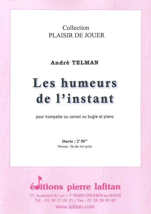 Les Humeurs de l'instant - André Telman - Partition - laflutedepan.com