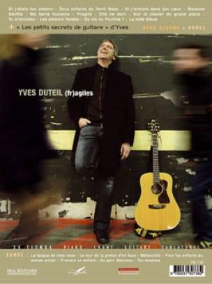 Fragiles et Sans Attendre - Yves Duteil - Partition - laflutedepan.com