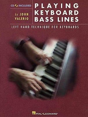 Playing Keyboard Bass Lines John Valerio Partition Jazz - laflutedepan