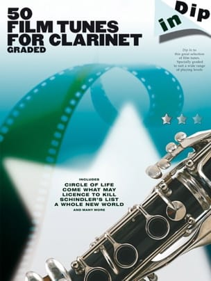 50 Film Tunes For Clarinet Graded - Dip In Partition laflutedepan