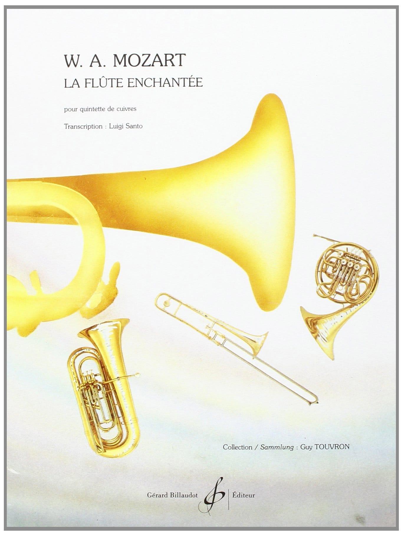 La Flute Enchantée - Quintette de Cuivres - MOZART - laflutedepan.com