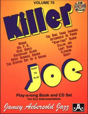 Volume 70 - Killer Joe METHODE AEBERSOLD Partition Jazz - laflutedepan
