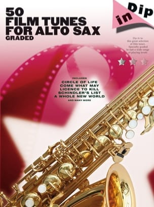 50 Film Tunes For Alto Sax Graded - Dip In Partition laflutedepan