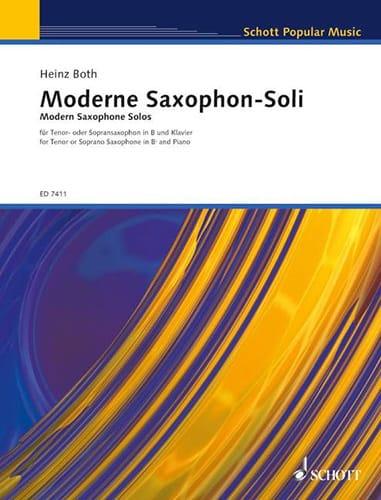 Moderne-Saxophon-Soli - Partition - Saxophone - laflutedepan.com