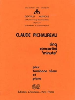 Cinq Concertini Minute - Claude Pichaureau - laflutedepan.com