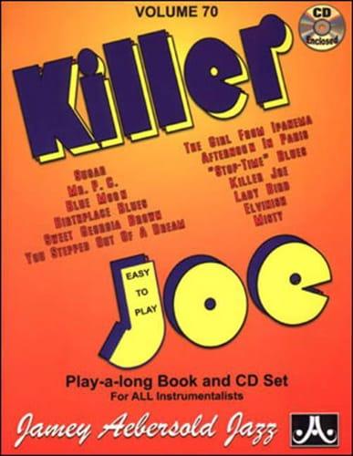 Volume 70 - Killer Joe - METHODE AEBERSOLD - laflutedepan.com