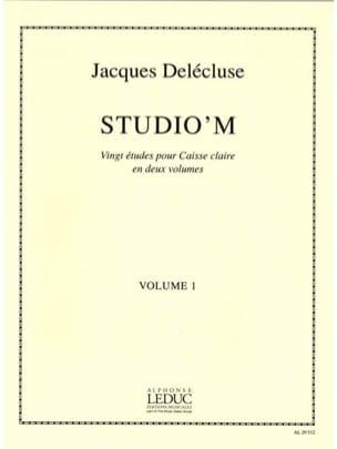 Jacques Delécluse - Studio 'M Band 1 - Partition - di-arezzo.de