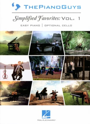 Simplified Favorites Volume 1 ThePianoGuys Partition laflutedepan