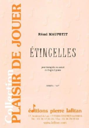 Etincelles - Rémi Maupetit - Partition - Trompette - laflutedepan.com