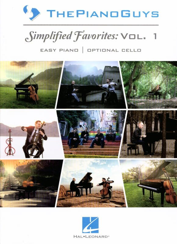 Simplified Favorites Volume 1 - ThePianoGuys - laflutedepan.com