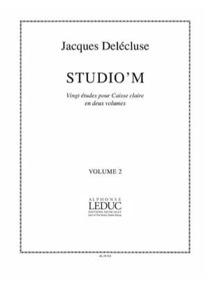 Jacques Delécluse - Studio 'M Band 2 - Partition - di-arezzo.de