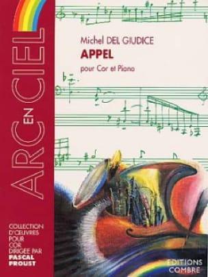 Appel - Michel Del Giudice - Partition - Cor - laflutedepan.com