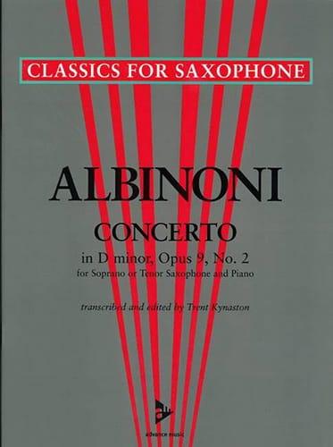 Concerto in D-minor opus 9 N° 2 - ALBINONI - laflutedepan.com