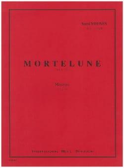 Mortelune Sami Younès Partition Marimba - laflutedepan