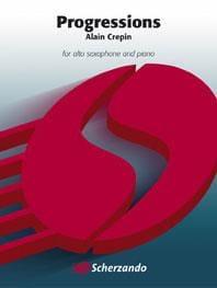 Progressions - Alain Crepin - Partition - Saxophone - laflutedepan.com