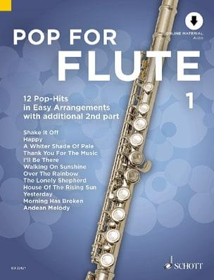 Pop For Flute - Volume 1 Partition Flûte traversière - laflutedepan