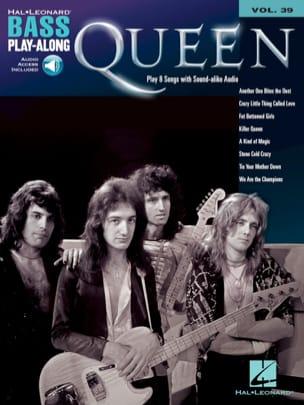 Bass Play-Along Volume 39 - Queen Queen Partition laflutedepan