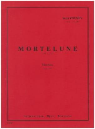 Mortelune - Sami Younès - Partition - Marimba - laflutedepan.com