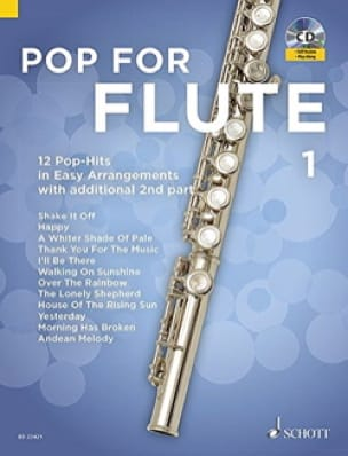 Pop For Flute - Volume 1 - Partition - laflutedepan.com