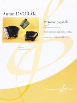 Première Bagatelle Opus 47 - DVORAK - Partition - laflutedepan.com
