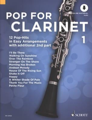 Pop For Clarinet - Volume 1 - Partition - laflutedepan.com