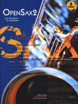 OpenSax - Volume 2 Partition Saxophone - laflutedepan