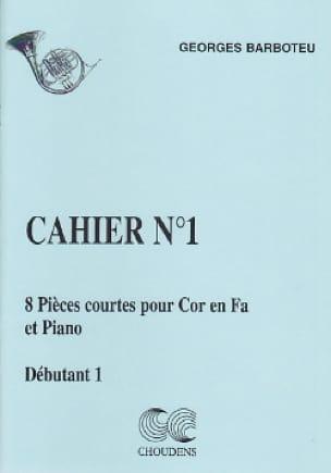 8 Pièces Courtes Cahier N° 1 - Georges Barboteu - laflutedepan.com