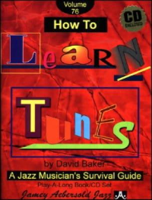 Volume 76 - How To Learn Tunes - METHODE AEBERSOLD - laflutedepan.com