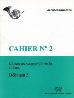 8 Pièces Courtes Cahier N° 2 Georges Barboteu Partition laflutedepan