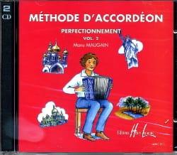 Manu Maugain - CD - Volume 2 Accordion Method - Partition - di-arezzo.com