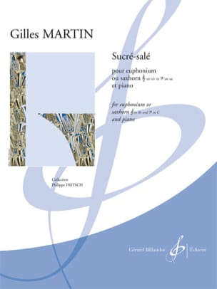 Sucré-salé - Gilles Martin - Partition - Tuba - laflutedepan.com