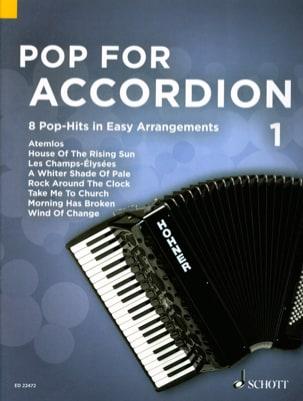 Pop For Accordion - Volume 1 Partition Accordéon - laflutedepan