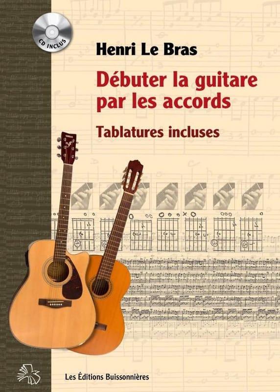 Débuter la guitare par les accords - Henri Le Bras - laflutedepan.com
