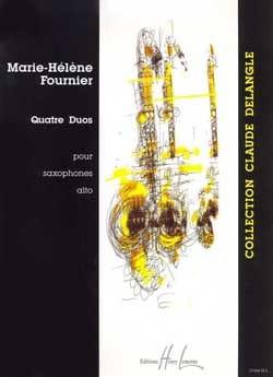 Quatre Duos - Marie-Hélène Fournier - Partition - laflutedepan.com