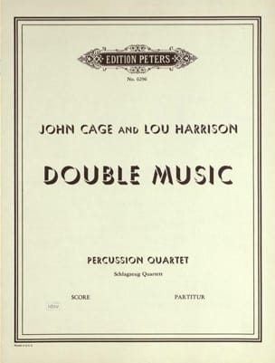 Double Music - Conducteur Cage John / Harrison Lou laflutedepan
