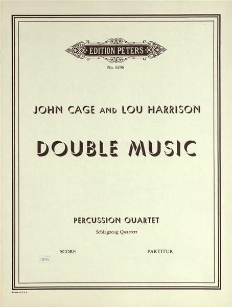 Double Music - Conducteur - laflutedepan.com