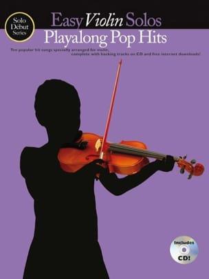 Easy Violin Solos Playalong Pop Hits Partition Violon - laflutedepan