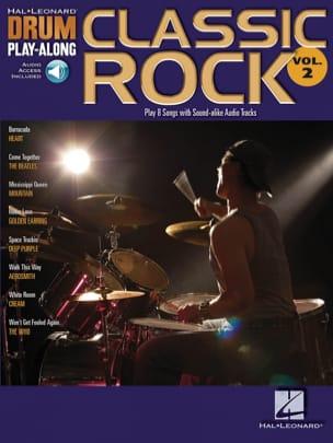 Drum play-along volume 2 - Classic rock Partition laflutedepan