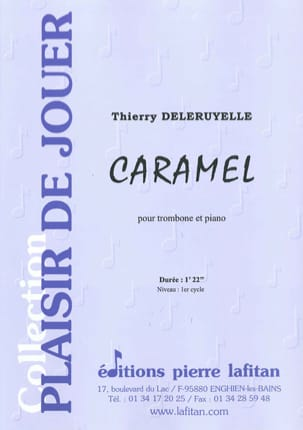 Caramel Thierry Deleruyelle Partition Trombone - laflutedepan