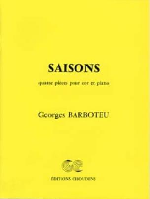 Saisons - Georges Barboteu - Partition - Cor - laflutedepan.com