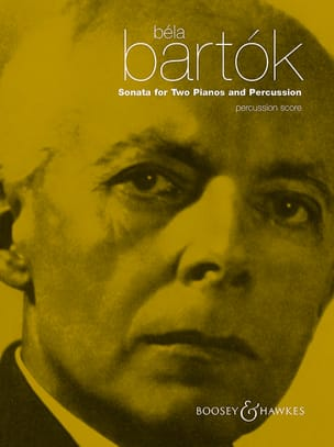 Sonata For Two Pianos And Percussion - Percussion BARTOK laflutedepan